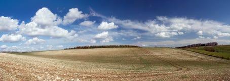 поля Англии cotswold Стоковые Фотографии RF