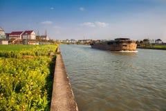 Поля в сельской местности южного Китая Стоковые Фотографии RF