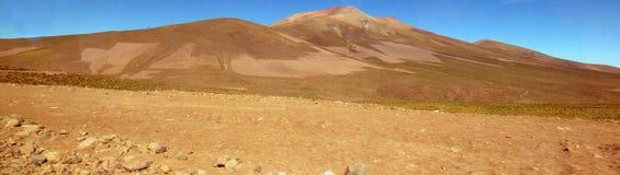 Поля в Altiplano Боливия, Южная Америка Стоковое Изображение