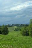 поля bevore heave холмистая погода стоковое изображение rf