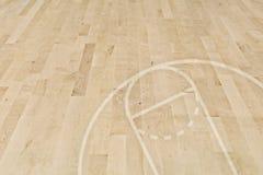 пол баскетбола Стоковое Изображение