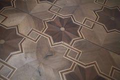 Пол древесины Panza виллы стоковое изображение