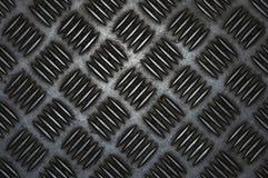 Пол металла с концом-вверх рифленой поверхности Рифленый алюминиевый лист, текстура предпосылки стоковое фото rf