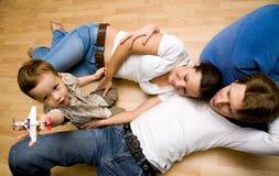 пол семьи Стоковые Изображения RF