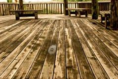 пол угла широко деревянный Стоковые Изображения