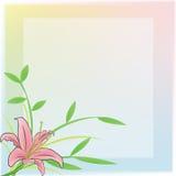 помадка блокнота лилии дневника Стоковая Фотография