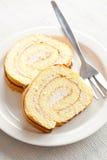 помадка губки крена десерта Стоковое фото RF
