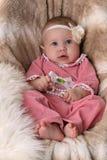 помадка девушки младенца красивейшая Стоковая Фотография RF