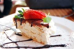 помадка еврейской пасхи тарелки сыра cream съеденная пасхой Стоковые Изображения RF