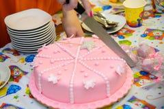 помадка именниного пирога Стоковое Фото
