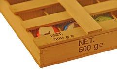 помадка коробки Стоковые Фотографии RF