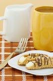 помадка кофе cannoli итальянская Стоковая Фотография