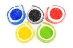 помадка логоса олимпийская мягкая Стоковая Фотография RF
