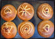 помадка лотка хлеба выпечки мексиканская Стоковое Изображение