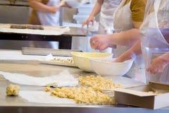 помадка печенья выпечки Стоковое Фото
