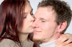 помадка поцелуя Стоковое Изображение
