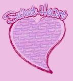 помадка сердца Стоковые Фотографии RF