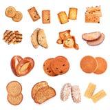 помадка собрания хлебопекарни стоковые фотографии rf