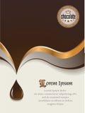 помадка шоколада предпосылки Стоковое Изображение RF