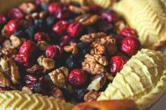Помадки и десерты на праздник Novruz стоковая фотография