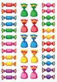 помадки конфеты смешные Стоковая Фотография RF