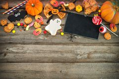 Помадки на Halloween выходка обслуживания Стоковое Изображение RF
