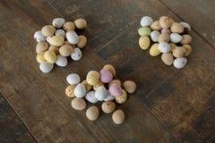 Помадки пасхального яйца стоковое изображение