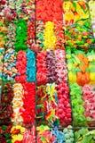 помадки студня дисплея конфеты цветастые Стоковая Фотография RF