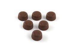 помадки шоколада стоковое изображение rf