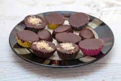 помадки шоколада handmade Стоковые Фотографии RF