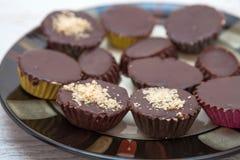 помадки шоколада handmade Стоковые Изображения