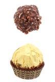 помадки chokolate Стоковое Изображение RF