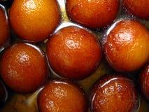 помадки jamun gulab индийские Стоковое фото RF