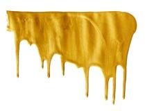 Помарка золотого Стоковое фото RF
