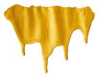 Помарка золотого Стоковые Фотографии RF