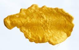 Помарка золотого Стоковое Фото