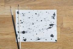 Помарки чернил Стоковое Изображение