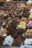 Помадка и шоколады стоковые изображения rf