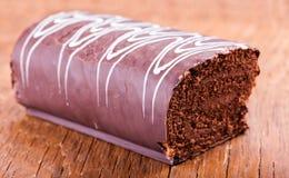 помадка крена шоколада Стоковое фото RF