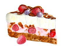 помадка поленики расстегая плодоовощей еды ягоды Стоковая Фотография