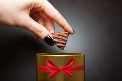 помадка шоколада конфеты Стоковые Фотографии RF