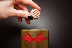 помадка шоколада конфеты Стоковое Изображение