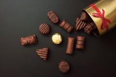 помадка шоколада конфет Стоковое Изображение