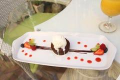 Помадка шоколада Лето Стоковые Изображения RF