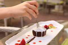 Помадка шоколада Лето Стоковая Фотография RF