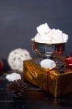 Помадки и печенья рождества стоковое фото rf