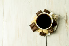 помадки кофейной чашки Стоковое Фото