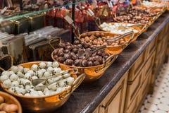 Помадки шоколада в магазине Стоковые Изображения RF