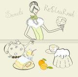 помадки девушки Стоковое Изображение RF