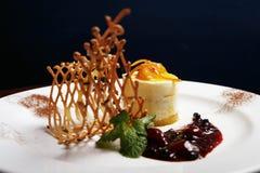 помеец десерта toping Стоковые Фотографии RF